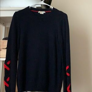 Navy and red Boden sweater